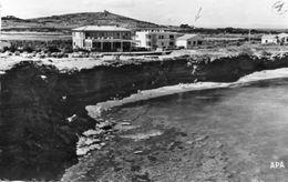 CPSM Dentellée - AGDE (34) - Aspect De La Crique Du Cap D'Agde , De L'Hôtel-Restaurant Et Des Villas Dans Les Années 50 - Agde