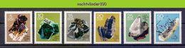 Nbm0649 MINERALEN GEMSTONES MINERALIEN UND GESTEINE MINÉRAUX GERMANY DDR 1969 PF/MNH - Mineralen
