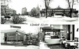 Allemagne - Rastatt - Bahnhofstrasse - Schloss - RaststÄtte Opel Stüb'l - Rastatt