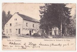 La Gleize: Château-ferme De Wérimont. (cachet Roanne-Coo). - Stoumont