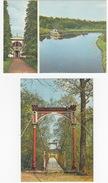 2 CARDS Of EESTI  - Jögeveste ,Mausoleum Barclay De Tolly, River Emajogi  & Viljandi Rippsild  - (Eesti/Estonia/Estland) - Estland