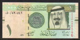 510-Arabie Saoudite Billet De 1 Riyal 2007 - 050 Neuf - Arabie Saoudite