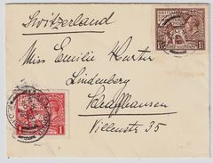 GB, Satz-Brief 1924, Portogerecht , # 8646 - Briefe U. Dokumente