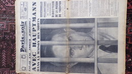 PARIS SOIR 15 -2-1936-VAN ZEELAND FLANDIN-CARNAVAL NICE-CHARLES MAIRRAS-HAUPTMANN PRISON TRENTON-ARC EN CIEL BOURGET - Journaux - Quotidiens