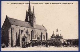 29 SAINT-JEAN-TROLIMON La Chapelle Et Le Calvaire De Tronoen (Tronoan) - Animée - Saint-Jean-Trolimon