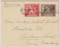 GB, 1925, Auf GA 1925, So.-Stp.!    , # 8648 - 1902-1951 (Könige)