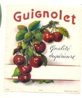 - étiquette - étiquette Générique GUIGNOLET  - - Whisky