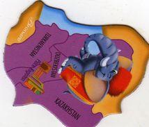Magnets Magnet Savane Brossard Asie Kazakhstan - Tourisme