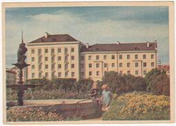 Eesti NSV, Narva - Uues Hooned Puskini Väljakul (Neues Puschkinhaus) - (Estland/Estonia) - Estland