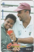 Cayman Islands : CAY-224D .  .W.I. Criketer  JIMMY  ADAMS  . - Kaimaninseln (Cayman I.)