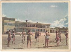 Eesti NSV, Pärnu - Rannahoone  (Strandpavillion) - VOLLEY-BALL - (Estland/Estonia) - Estland