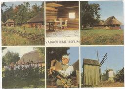 Eesti  NSV - Riiklik Vabaöhumuuseum - Estonian State Open Air Museum - MOLEN/MÜHL/MOULIN & BAGPIPE - (Estland/Estonia) - Estland