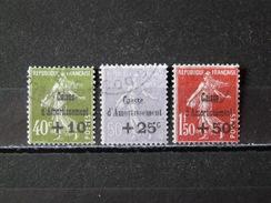 FRANCE - 1931 N° 275/277 O - Frankreich