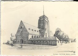 _6ik-610 Projet D'église à NINDE(Tremelo) ....Père Damien Une Brique Pour... - Tremelo