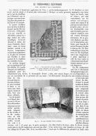 LE THERMOPHILE ELECTRIQUE TISSU  CHAUFFANT Par L'ELECTRICITE  1903 - Sciences & Technique