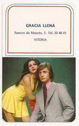Calendario, 1974, Gracia Llena SASTRERÍA, SASTRE - Tamaño Pequeño : 1971-80
