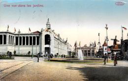 [DC10590] CPA - EXPOSITION CHARLEROI 1911 - Viaggiata 1911 - Old Postcard - Belgio