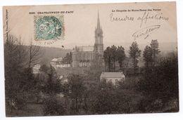 CHATEAUNEUF DU FAOU (29) - LA CHAPELLE DE NOTRE-DAME DES PORTES - Châteauneuf-du-Faou