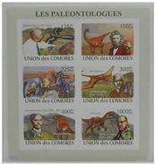 Comores Prehistory Prehistoire Paleontologistes Dinosaurs Ammonite Imperf - Prehistory