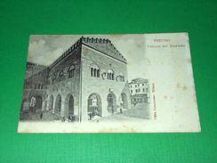 Cartolina Treviso - Palazzo Dei Trecento 1900 Ca - Treviso