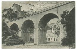 Monaco // Pont Et Chapelle Ste-Dévote - Monaco