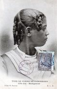 Cpa  Type De Femme Retsimisiraka Cote Est -madagascar - Madagascar