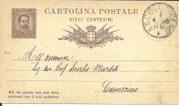 Carte Lettre ITALIE  1885     (28) - 1878-00 Humberto I