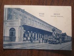 RUSSIA,POLAND, UKRAINE, BRODY RAILWAY STATION With TRAIN - Russie