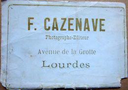 PHOTOGRAPHE F CAZENAVE PHOTOGRAPHE EDITEUR 65 LOURDES CARTE COMMERCIALE  DEFRAICHIE AU BAS - Photographs