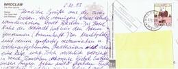 PL+ Polen 1996 Mi 3609 Steinbock Auf PK Breslau - 1944-.... République