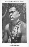 OCEANIE Oceania - ARCHIPEL DES SAMOA : Type D'Indigène - CPA - Missions De Pères Maristes - Ozeanien - Samoa
