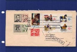 24 - 2 -1971 WASHINGTON -  COVER TO CHRISTMAS ISLAND RTS TO ITALY - United States