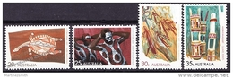 Australia 1971 Yvert 443-46, Definitive Set, Aborigean Art - MNH - 1966-79 Elizabeth II