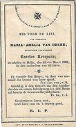 DP 1838 Melle - Maria-Amelia Van Hecke. - Images Religieuses