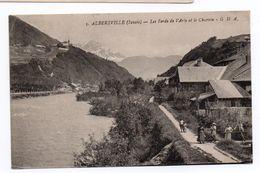 ALBERTVILLE (73) - LES BORDS DE L'ARLY ET LE CHARVIN - Albertville