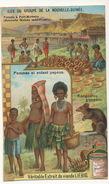 Chromo Liebig  Port Moresby Poterie Kangourou Nude Women - Papua New Guinea