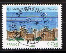 France 2017.Cherbourg En Cotentin.Cachet Rond Gomme D'origine. - France