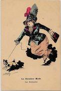 CPA ROBERTY Satirique Caricature Mode Chapeau Type Sager Non Circulé Sans éditeur - Robert