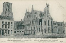 BE DIXMUDE  / L'hôtel De Ville Et La Place De L'église / - Diksmuide