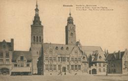 BE DIXMUDE / Hôtel De Ville Tour De L'église / - Diksmuide