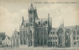 BE DIXMUDE / Hôtel De Ville  Et église Saint Nicolas / - Diksmuide