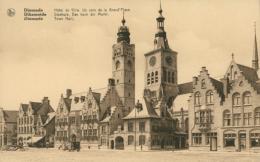 BE DIXMUDE / Hôtel De Ville  Un Coin De La Grand Place / - Diksmuide