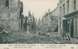 BE DIXMUDE / Ruines De La Grande Rue / - Diksmuide