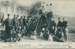 BE DIXMUDE / Soldats Belges De La Croix Rouge Et Leur Cuisine / - Diksmuide