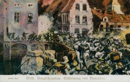 BE DIXMUDE / Westl. Kriegsschauplatz : Ersturmung Von Dirmuiden / - Diksmuide