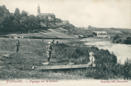 BE FLORENVILLE /  Paysage Sur La Semois   /  BELLE CARTE - Florenville