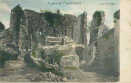 BE FRANCHIMONT / Ruines De Franchimont Cour D'honneur  /  CARTE COULEUR - Philippeville