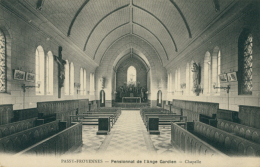 BE FROYENNES  / Passy-Froyennes  Pensionnat De L'Ange Gardien  Chapelle  / - Tournai