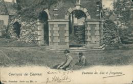 BE FROYENNES  / Fontaine Saint Eloi / Nels Série 105 N° 11 - Tournai