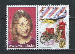-BELGIE   GESTEMPELD  OPCB.  NR°   3000  Catw.   2.50   Euro - Used Stamps